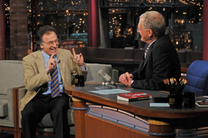 AUDIO: Novelist, David Letterman writer Bill Scheft shrinks himself