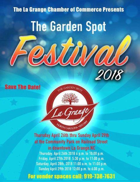 Garden Spot 2018 flyer